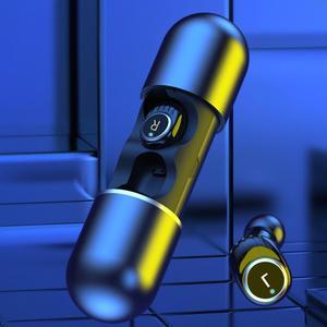 BL Высокое качество ABS Bluetooth наушники-вкладыши стерео зарядный чехол мини стерео звук спортивные наушники для Мобильные телефоны