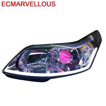 Automovil Accessory Luces Para Auto Parts Styling Led Headlights Car Lights Assembly 07 08 09 10 11 12 13 FOR Citroen C-Quatre