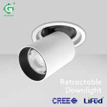 COB 12W 25W Downlight 360 Degree Adjustable Recessed Ceiling Lighting Indoor Kitchen Rotatable Surface Mounted LED Lamp Gallery