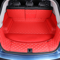3D Volledige Overdekte Waterdichte Laars Tapijten Duurzaam Custom Speciale Kofferbak Matten Voor Lincoln Mkc Mkz Mkx Navigator Continental op