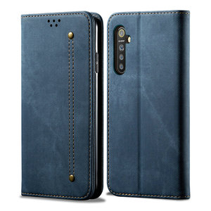 Realme XT Realme X2 Pro Luxury Case Solid Leather Flip Cover for OPPO Realme 5 Pro X50 5G Wallet Case Find X2 Lite X 2 Neo Funda(China)