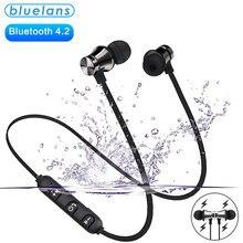 Magnetische Draadloze Bluetooth Oortelefoon XT11 Muziek Headset Telefoon Nekband Sport Oordopjes Oortelefoon Met Microfoon Voor Iphone Samsung Xiaomi