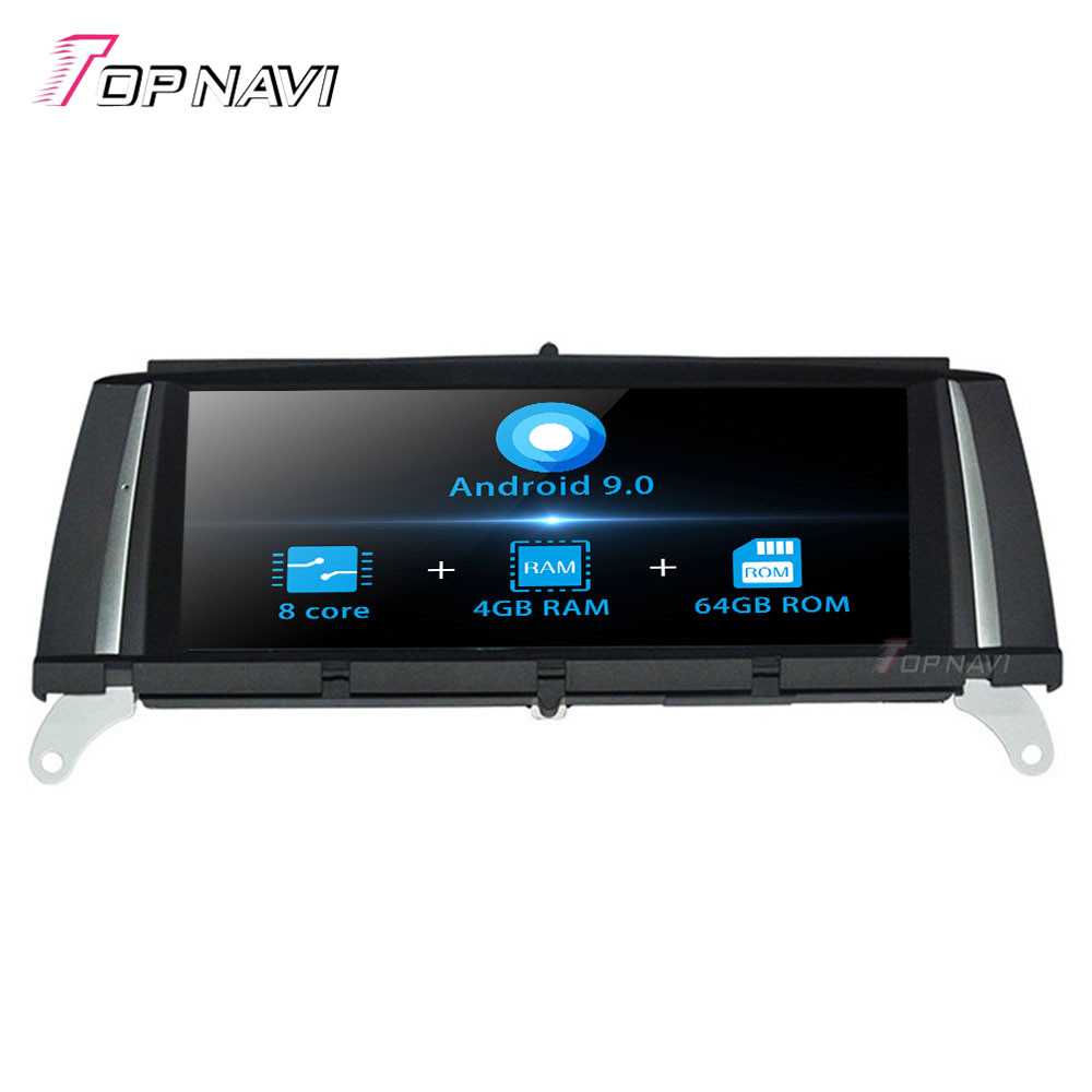 8.8 Inch Android 9.0 Octa Core New For <font><b>BMW</b></font> X3 <font><b>X4</b></font> F25(2014-2016) Stereo Auto Car GPS Navigation Multimedia Player Capacitive Wifi image