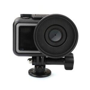 Image 2 - Anneau adaptateur dobjectif en alliage daluminium 52mm filtre UV/CPL Kit de bague dentraînement capuchon dobjectif pour accessoires de connecteur de caméra daction DJI OSMO