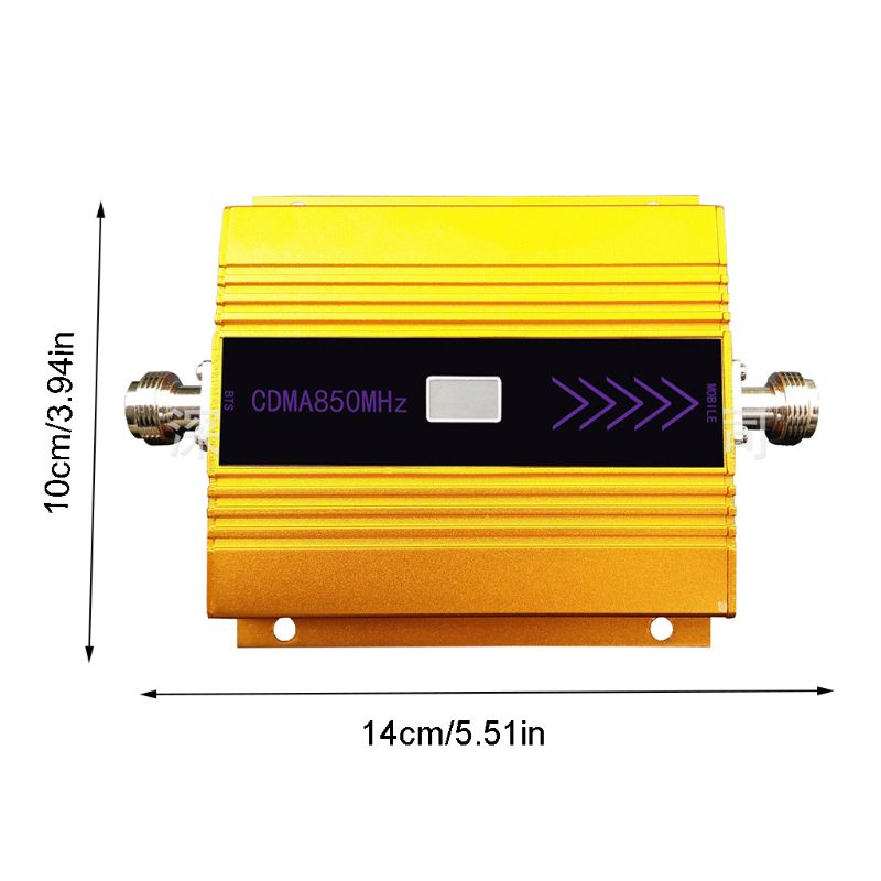 <font><b>850mhZ</b></font> <font><b>GSM</b></font> 2G/3G/4G Signal Booster <font><b>Repeater</b></font> Amplifier Antenna for Mobile Phone image
