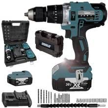 Drill-Driver Assur Ce XR3650 36V 5-Ah Cordless-Hammer 24piece-Master-Set Li-Ion Dual