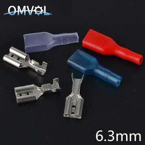 100pcs 6.3mm Crimp Terminal 50