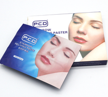 Eyebrow reliving Paste 12pcs pastel Wet moisture eye For Tattoo Permanent Makeup Accessories beauty tatoo pain cream