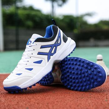 2021 profesjonalne męskie buty do badmintona tenisowe gra w siatkówkę buty lekkoatletyczne buty treningowe Outdoor buty do biegania męskie tanie i dobre opinie TABOLU CN (pochodzenie) Spring2019 Dobrze pasuje do rozmiaru wybierz swój normalny rozmiar Siateczka (przepuszczająca powietrze)
