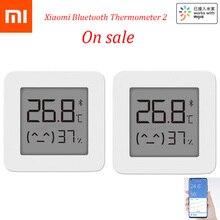 2020 в наличии XIAOMI Mijia Bluetooth термометр 2 беспроводной умный электрический цифровой гигрометр термометр работает с приложением Mijia