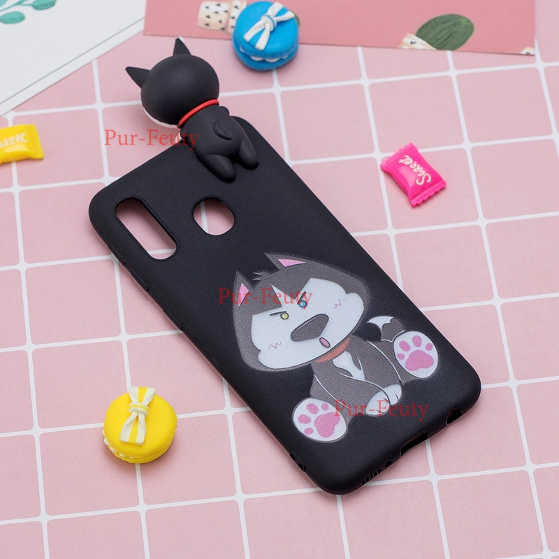 Husky Cartoon Case For For <font><b>Samsung</b></font> <font><b>Galaxy</b></font> <font><b>A20E</b></font> <font><b>SM</b></font> <font><b>A202F</b></font> <font><b>A202F</b></font> Toys Dolls Unicorn Soft Cover For <font><b>Samsung</b></font> <font><b>Galaxy</b></font> A20 Silicon Case image