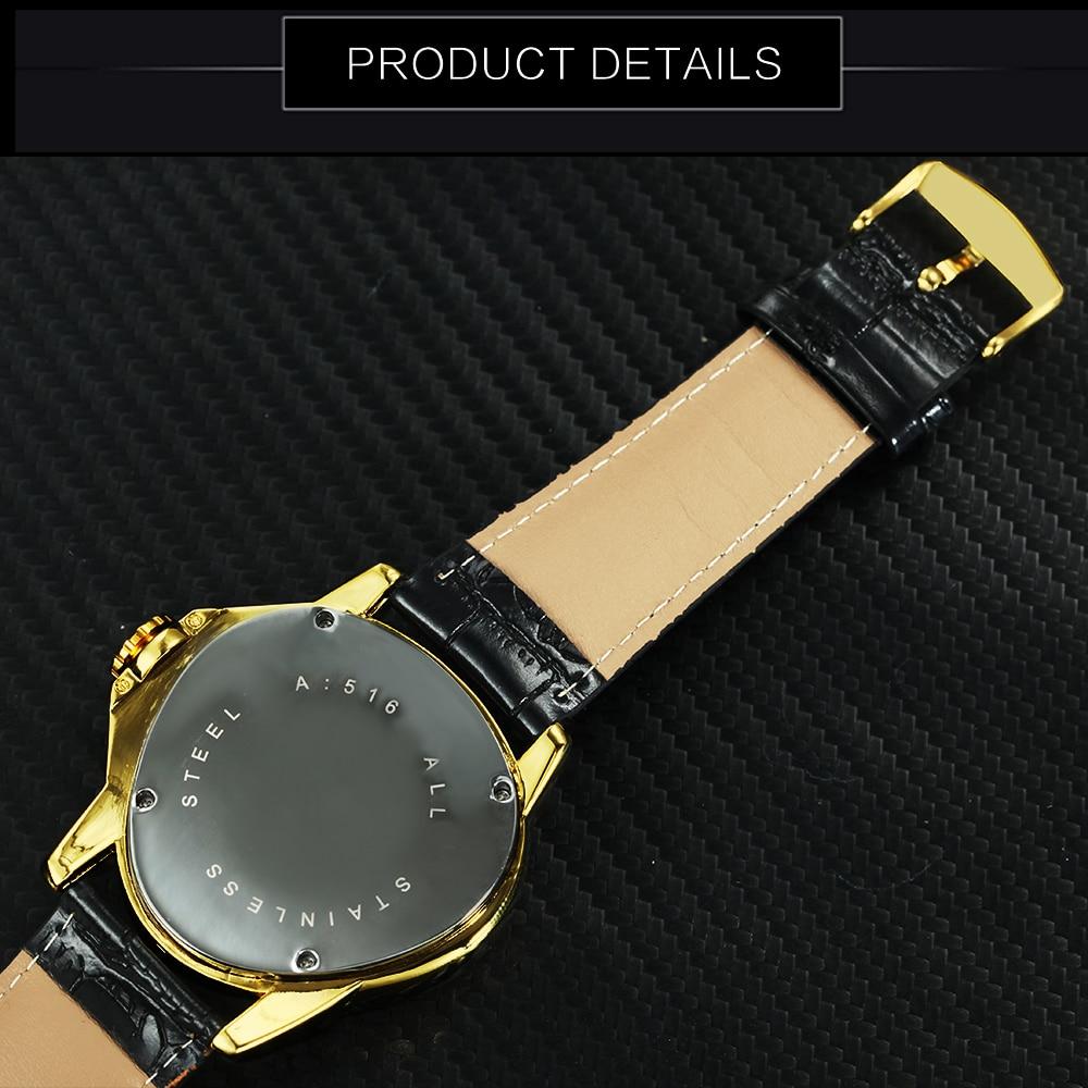 Image 4 - WINNER Official Sports Automatic Mechanical Men Watch Racing Triangle Skeleton Wristwatch Top Brand Luxury Golden + Gift Boxbox brandwatch brandwatch designer brands -