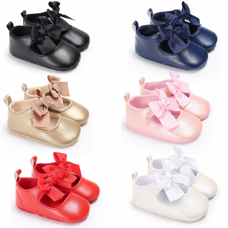 Infant Baby Shoes Newborn Girls Moccasins For Babies PVC Leather Shoes Baby Soft Cotton Sole First Walkers For 3-11 Month1