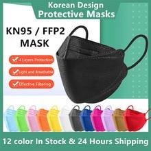 Fish Shape FFP2 Masks KN95 Mask Korea Certified Mascarilla ffp2 kn95 homologada españa  ffp2 mask reusable dropship masks masque