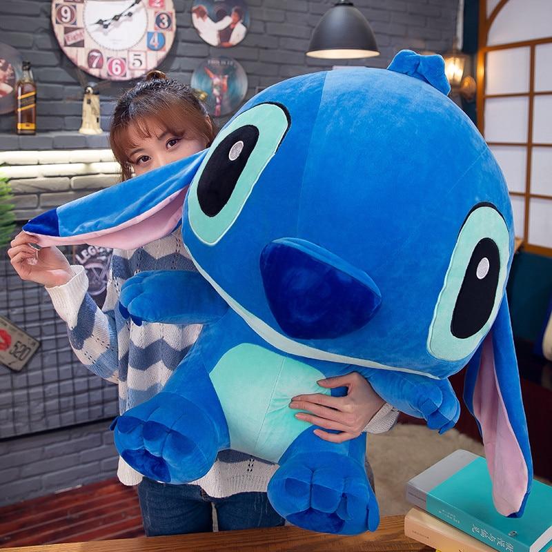 Stitch Plush Toys Lilo & Stitch Children Anime Stuffed Animals Plush Dolls Plush Toys For Children Birthday Gifts Soft Pillow