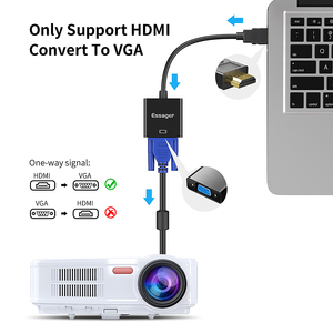 Image 4 - Essager HDMI VGA adaptörü Video kablosu 1080P HDMI erkek VGA dişi dönüştürücü dijital Analog için PS4 PC dizüstü TV VGA HDMI