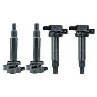 4 bobinas de encendido para Toyota Echo 90919-02240 673-1306