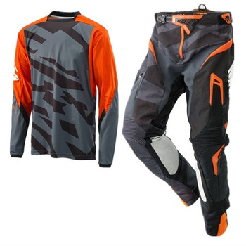 Top MX Motocross Jersey and Pants Racing Gear Set Mountain Bike Suit Motorcycle Riding combination