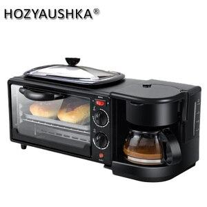 3 в 1 тостер Электрическая Духовка хлебопечка машина chapati чайник для завтрака тостер