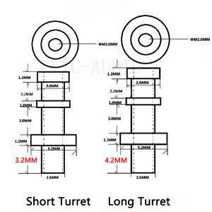 Image 5 - DIY Projekt Turret lug Audio Tag Bord Terminal Board Verzinnt Kupfer Turrets Für 1.0 ~ 3mm Bord Für Audio rohr Verstärker Kit DIY