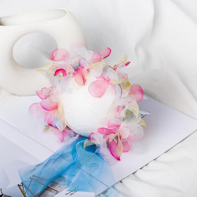 Фото детская кружевная шляпа для фотографирования новорожденных реквизит