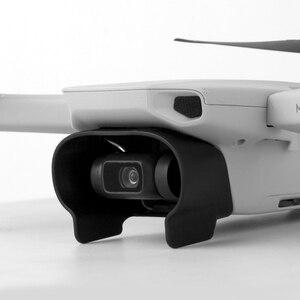 Image 4 - עדשת הוד עבור DJI Mavic מיני Drone Gimbal מצלמה שמש צל עדשת כיסוי כובע מגן נגד בוהק חילוף אבזרים