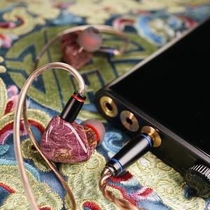 Image 4 - QOA Mojito 2 Sonion BA + 4 Knowles 6BA Fahrer Einheiten In Ohr Kopfhörer HIFI DJ Monitor IEM 2Pin Silber  überzogene Kupfer Kabel Headset