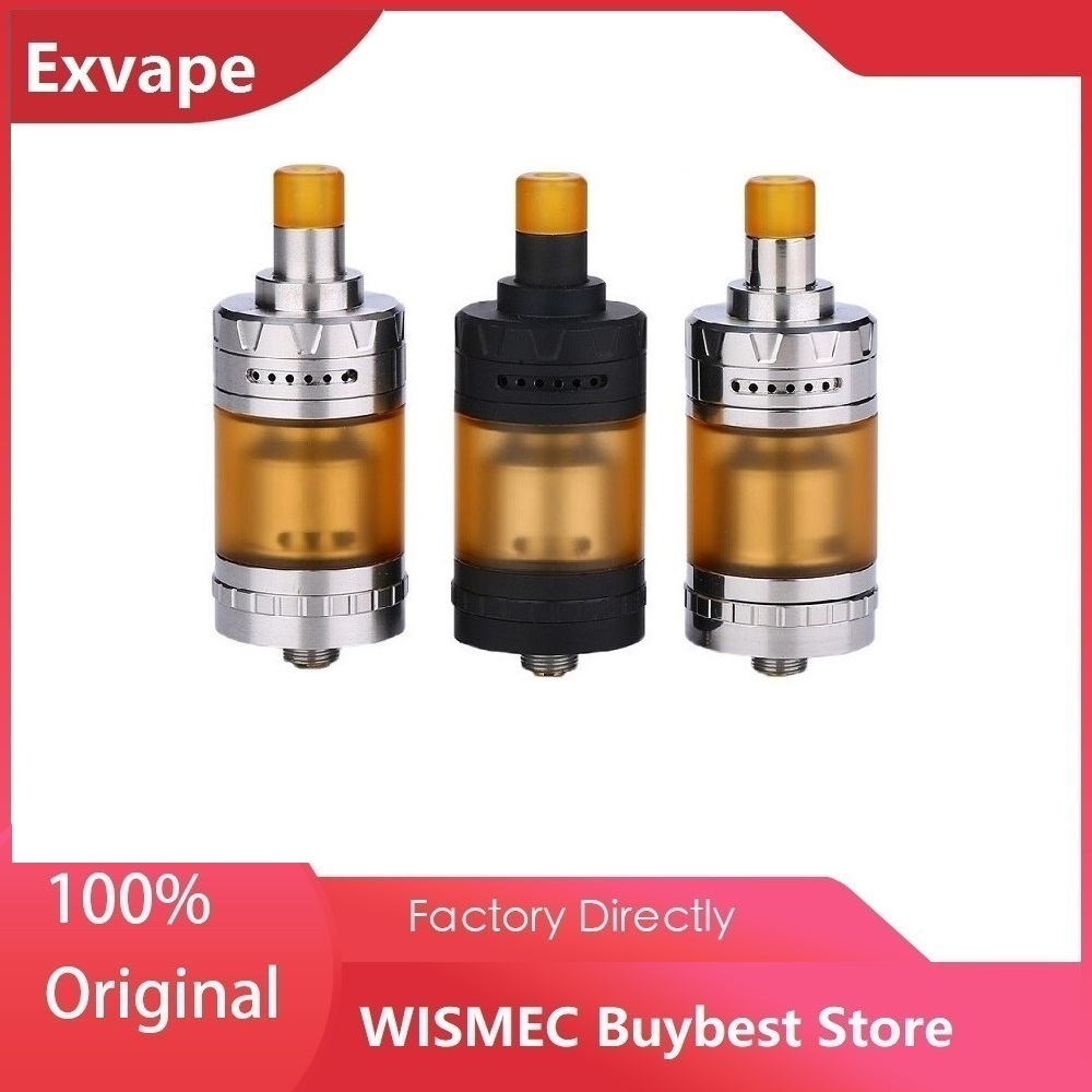 Original Exvape Expromizer V4 MTL RTA Tank With Easy Single Coil Building & 23mm Diameter Vape Vaporizer Vs Zeus X/ Zenith