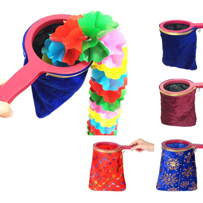 Classic Toys Qiankun Bag Empty Bag Can Be Anything Out Of Stage Stage Magic Tricks Prop