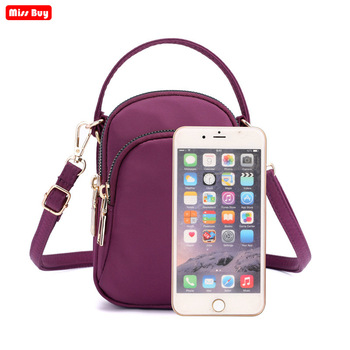 Fashion Mobile Phone Bag Case Pouch For iPhone for Samsung for huawei for xiaomi redmi for nokia Leather Purse for women gril