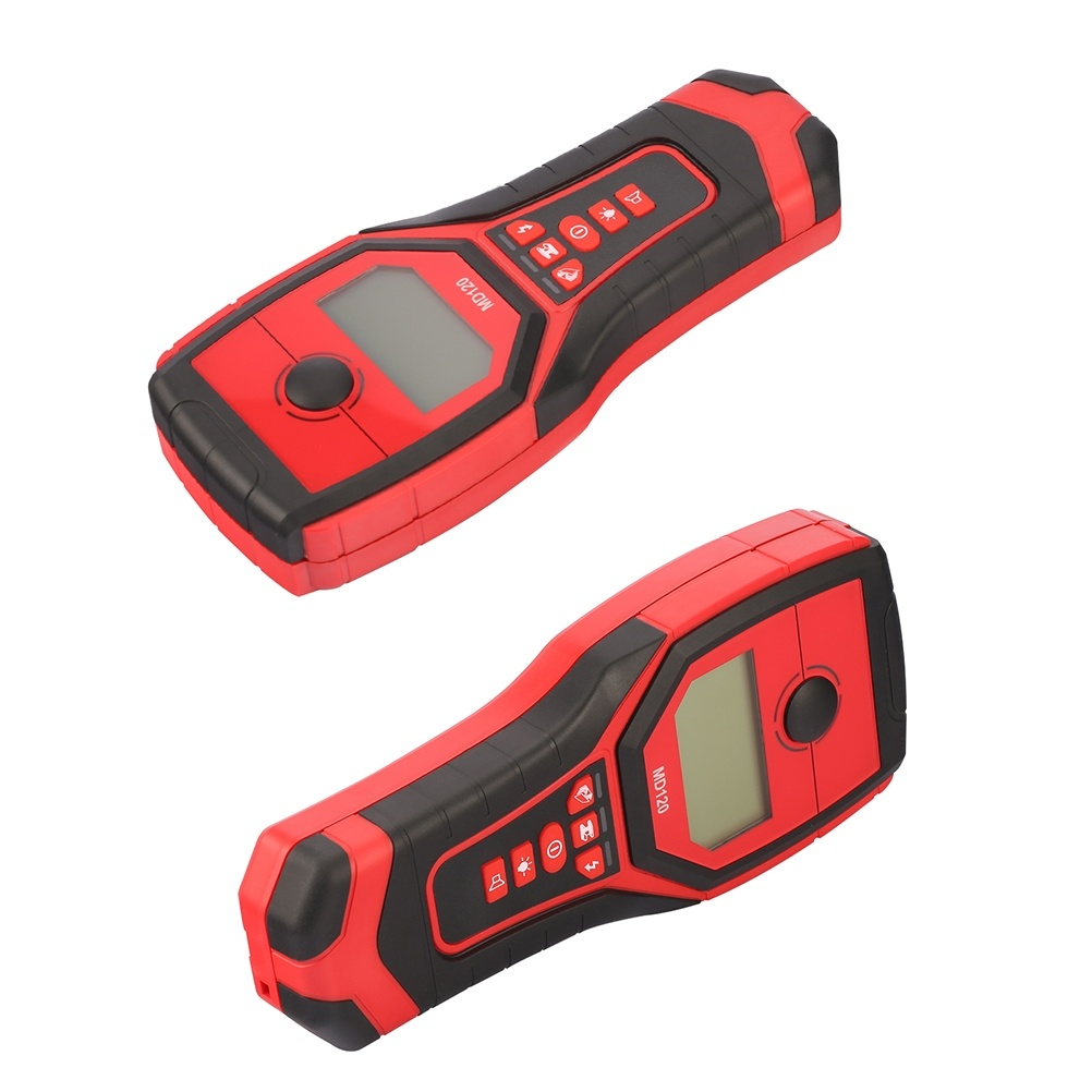 Metal Detector 3 In 1 Handheld Wood Wall Stud Finder AC Cable Live Wire Multi-functional Scanner Tracker With LCD Display