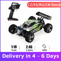 WLtoys A959-B A959 959-A RC Car 1:18 2.4GHz 4WD Rally Racing Car 70KM/H High Speed Vehicle RC Racing Car for Kids Adults