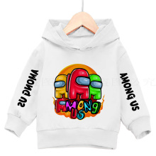Girls' Hoodie hot video game boys' Hoodie Sweatshirt 3-13 years old girls' cotton sweatshirt winter warm Long Sleeve Jacket Top