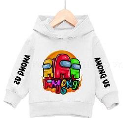 Girls' Hoodie hot video game boys' Hoodie Sweatshirt 3-13 years old girls' cotton sweatshirt winter warm Long Sleeve Jacket Top