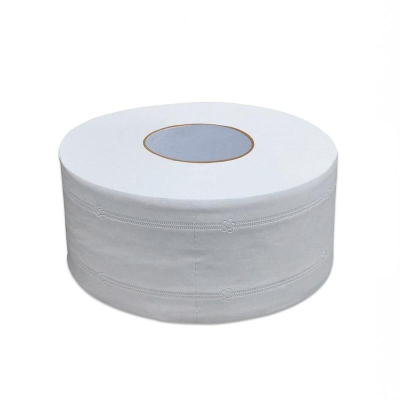 Large 4ply Jumbo Roll Bathroom Toilet Tissue Paper Roll Bathroom Office Toilet Paper450g