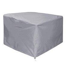 Açık gaz yağmur geçirmez kapak PVC kaplama ile yüksek kaliteli açık balkon soba masa örtüsü, siyah veranda bahçe mobilyaları yangın p