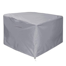 Outdoor gas rainproof cover with PVC coating high quality outdoor balcony stove table cover, black patio garden furniture fire p