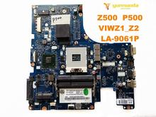 Original para lenovo z500 portátil placa mãe z500 p500 viwz1_z2 LA 9061P testado bom frete grátis
