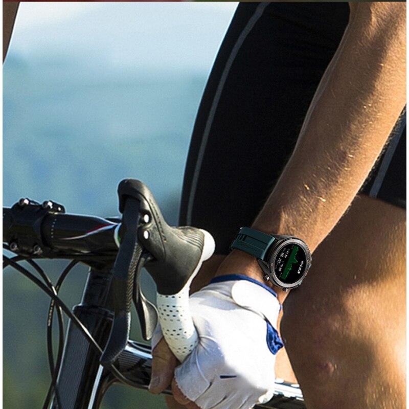 Global Version HUAWEI Smart Watch GT Waterproof Heart Rate Tracker Support NFC GPS Man Sport Tracker SmartWatch - 4