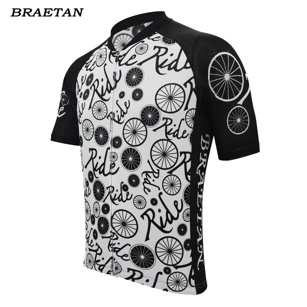 Cycling Jersey Clothing Bicycle-Clothes Short-Sleeve Ride Braetan Summer Men Hombre