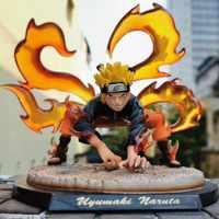 Naruto Anime Uzumaki Naruto Action-figuren Kurama Figma Spielzeug für Kinder GK Ninetales PVC Modell Puppe Shippuden Figur Naruto