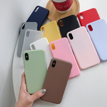 30pcs ultra thin Matte Phone Case for iphone 6 s 7 8 plus x xr xs max cases Solid Candy Color Frosted tpu cover covers tok kryt tok tok tok tok tok tok gershwin with strings page 4 page 7 page 7 page 7