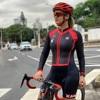Ciclismo skinsuit xama das mulheres de manga longa ciclismo triathlon terno ir pro bicicleta wear roupas ciclismo sportwear macacão kit 10