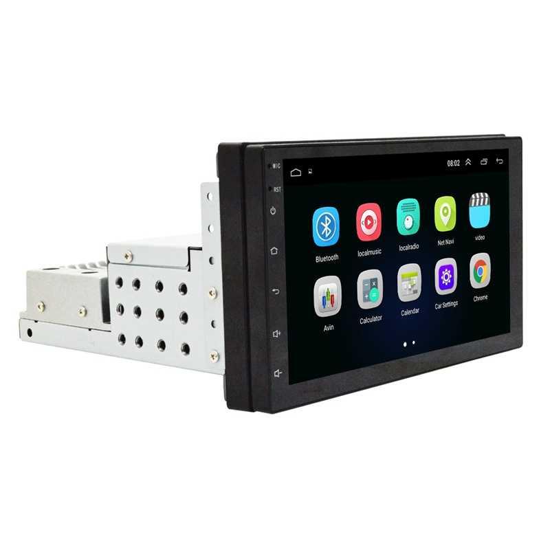 1 Din Autoradio 7 Inch Hd Auto Mp5 Multimedia Speler Android 8.1 Auto Radio Gps Navigatie Wifi Bluetooth Speler wifi + 1G + 16G