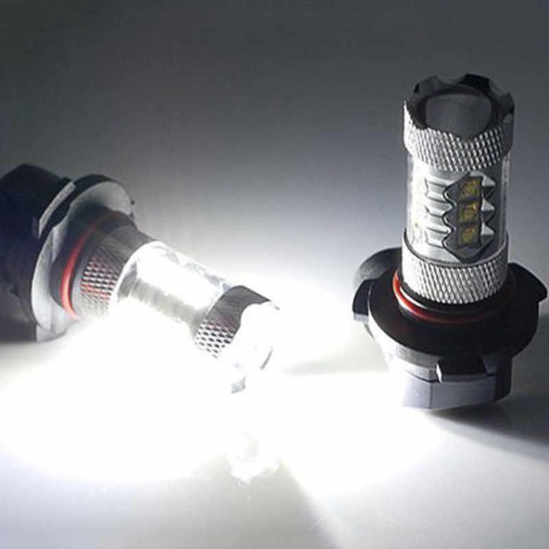 LED Light 80W DC12V White 9006 9005 16*3535 led light led lamp light Headlight Fog Light 2PCS