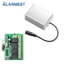 ALARMEST akıllı ev 4CH için röle çıkışı kontrol küçük ev aletleri için G90B wifi alarm ev güvenlik sistemleri