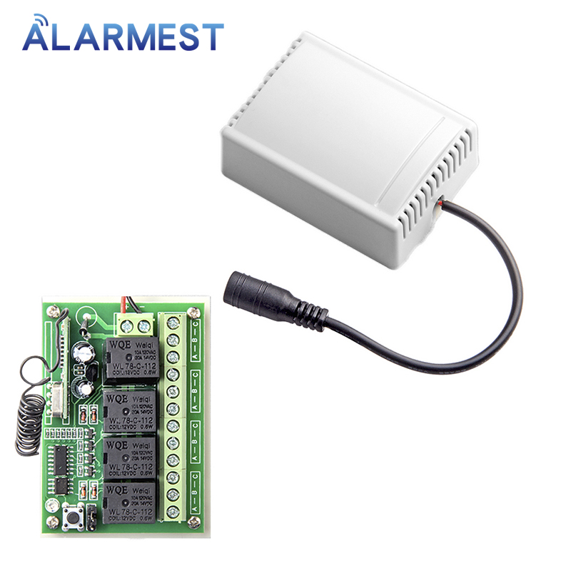 ALARMEST  smart home 4CH relay output for control small home appliances for G90B wifi alarm house security systemsoutput   -