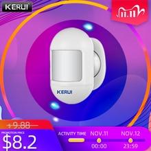 KERUI  Wireless Mini Safety PIR Motion Sensor Magnetic Swivel Base Infrared Detectors Safety Protection Mini Infrared Detector
