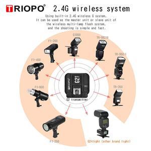 Image 4 - TRIOPO G2 2.4G Wireless Flash Trigger Receiver Suitable For TRIOPO TR 982III R1 G1800 TR 950II F1 200 Flash