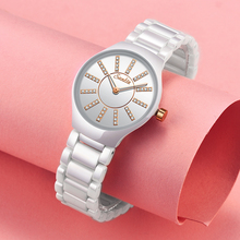 2019 New Brand Bracelet Watches Women Luxury Crystal Dress Wrist watches Clock Women's Fashion Casual Quartz Watch Reloj Mujer